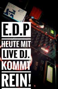Live DJ im EDP