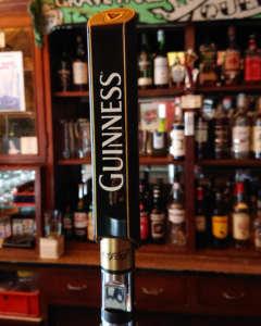 Guinness vom Fass